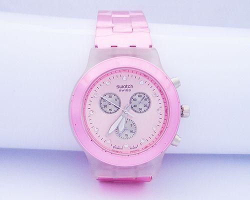 429babbe304 Relógio Feminino Swatch Swiss Rosa MOD 50894 - Loja csmodas